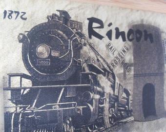 Historic Rincón Puerto Rico, Light house, Train Depot , Photography on canvas