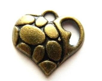 8 - Heart charms