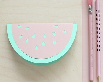 Papercut Watermelon Card