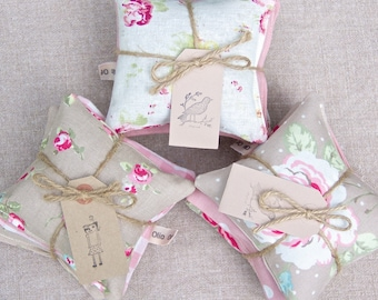 Lavender Drawer Sachets - Trio of Lavender Drawer Sachets