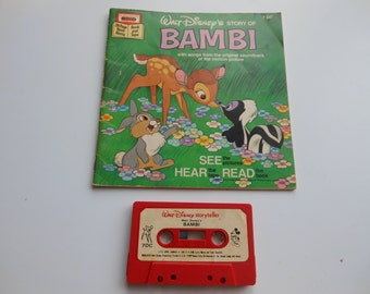 Bambi Read-Along Book and Cassette