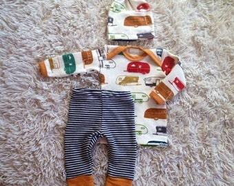 Camping Cutie Infant Outfit (3pcs.)