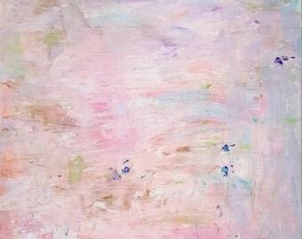 Someday, Saturday Painting, Impressions on Canvas, Pastel Acrylic Painting,Kathleen Leasure, FromGlenToGlen