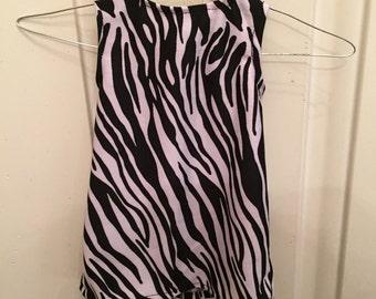 "FREE SHIPPING & SALE Zebra Dress  for 18"" Dolls*"