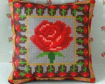 My Valentine Pincushion Cross Stitch Kit