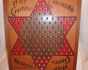 Hop Ching Chinese Checker Board