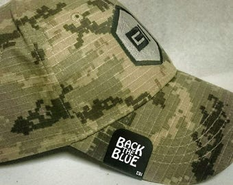 Brim-It Hat Clip- Back the Blue (Support the Police, Police, Law Enforcement)