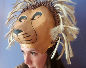 Lion king headress, Simba or Mufasa