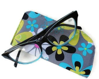 Eyeglass Case / Sun Glass Case / Reading Glasses Cover in Designer Fabric~~READY TO SHIP~~