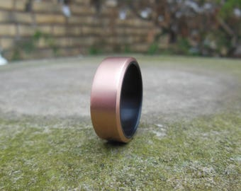 Copper with Black Resin Liner