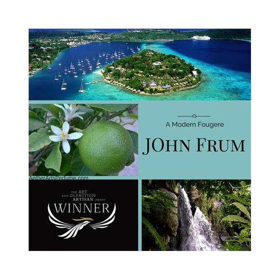 John Frum, a Tropical Perfume featuring Vanuatu Pepper, inspired by Burning Man and a Cargo Cult, a Modern, Fougere, Fragrance Oil