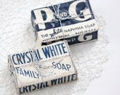 Vintage Soap, P and G and Crystal White