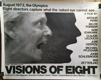 Movie Poster, Visions of Eight, 1972 Olympics