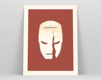 Iron Man Art ~ Movie Poster, Superhero Gift, Art Print by Christopher Conner