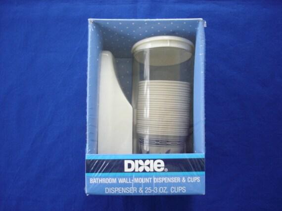 Dixie Bathroom Wall Mount Dispenser Amp Cups Original Package