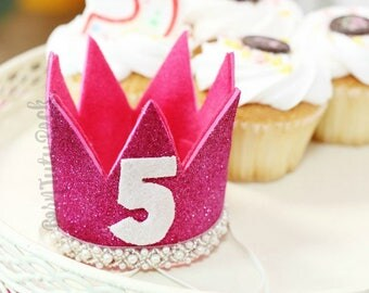 Birthday Princess Crown // by Born TuTu Rock