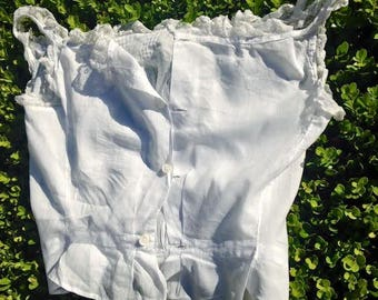 Antique French Child's Liseuse Top