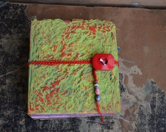 Junk Journal, Art Journal, Diary, Handmade Book