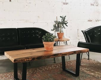 Industrial Modern Reclaimed Coffee Table