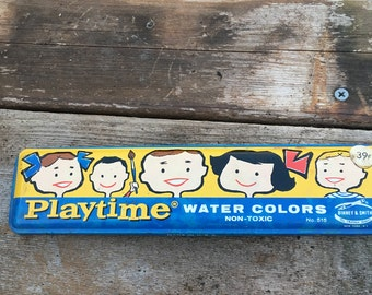 Playtime Water Color Tin