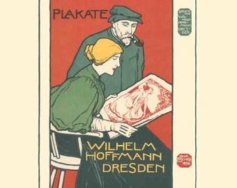 Otto Fischer-Kunst-Anstalt fur Moderne Plakate-1897 Lithograph