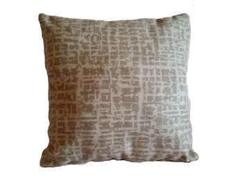 Very Soft Pollack Dapper Wool Birch Bark  Pillow Cover 1042/01 (B3)