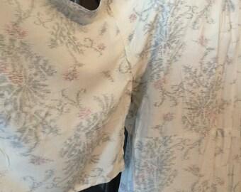 50s Floral Kimono