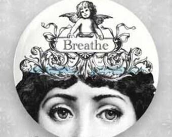 Breathe original Cavalieri melamine plate