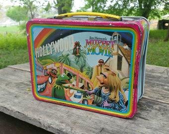 Muppet movie lunchbox