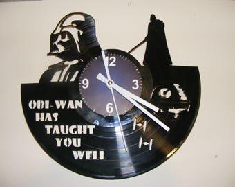 Star Wars Darth Vader Laser Cut Album Clock