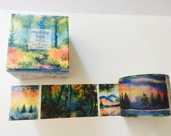 Autumn Scenes Boxed Washi Tape