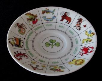 Lucky Zodiac Horoscope Plate