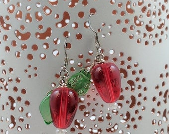 Apple or Radish Earrings