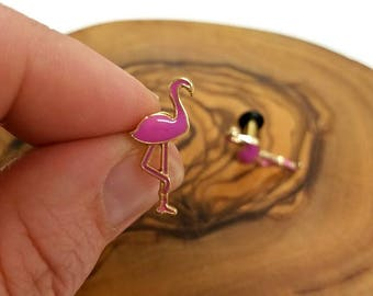 Pink Flamingo Plugs - 12g - 6g