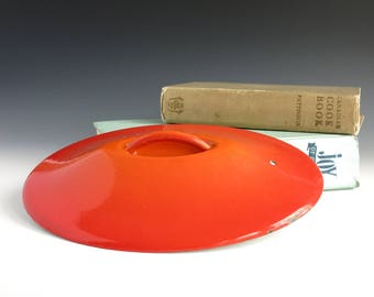 Replacement Lid for Le Creuset #26 Oval French Oven Casserole - Enameled Cast Iron Lid for Creuset Dutch Oven - Replacement Creuset Parts