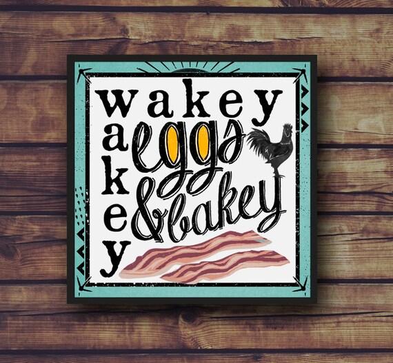 Wakey wakey Eggs and bakey - YouTube