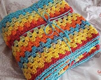 Rainbow Sprinkle Baby Blanket (Made to Order)