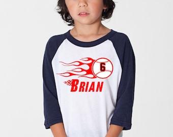 Baseball Birthday Raglan Shirt - Baseball Birthday Shirt 102
