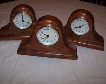 Round Mantle  Clock