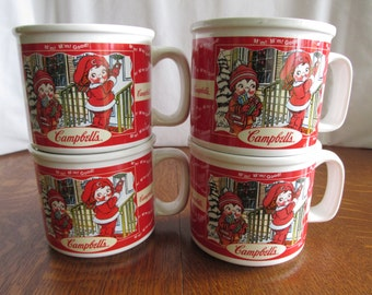 Set of Campbell's Soup Mugs