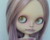 RESERVED for Rachel (3 and 4 of 5) - OOAK Custom Blythe Doll - Violet