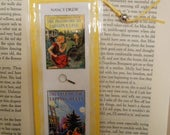Nancy Drew Clue The Password to Larkspur Lane The clue of the Tapping Heels Bookmark - Laminated double sided