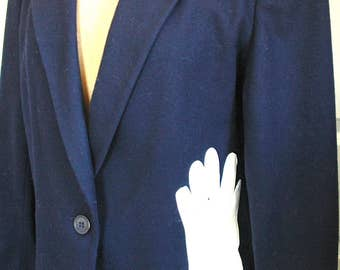 Up-cycled Jacket with Vintage Gloves & Hankie Appliques - BLOW-OUT SALE