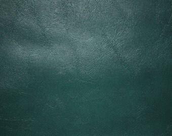"Green Semi-Pu Leather Vinyl Fabric 53""/54"" Wide Per Yard"
