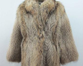 1970s Coyote Fur Coat