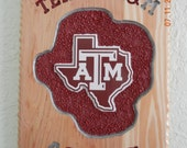 Items Similar To Texas A Amp M Aggies Routed Cedar Wood Sign