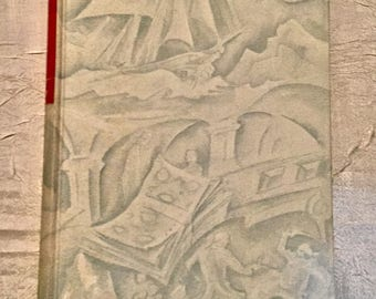 "Vintage Classic 1938 Children's Book ""KIDNAPPED"" Robert Louis Stevenson Memoir of David Balfour, Illustrated"