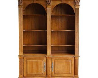 Bookcase / Display Cabinet / Library Cabinet  Legacy Double Arch Bookcase by Ethan Allen