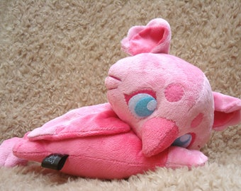 Pink Baby Griffin Plush Doll