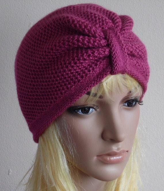 turban femme bonnet pour femme mode chapeau turban fait la. Black Bedroom Furniture Sets. Home Design Ideas
